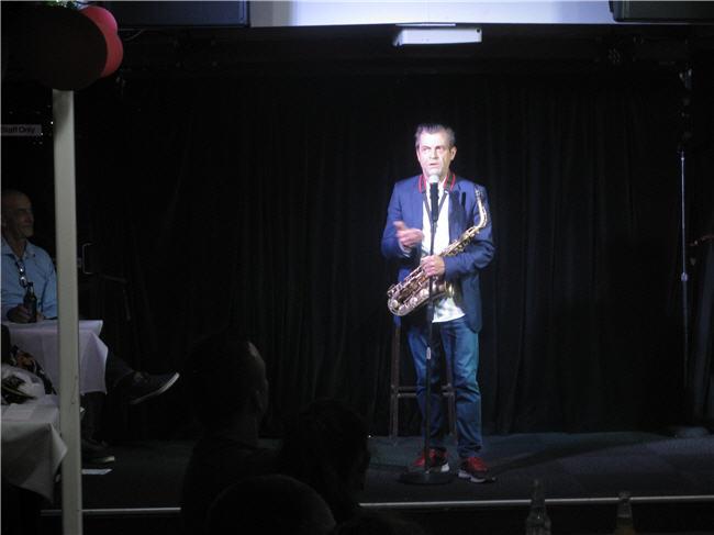 Sydney Comedian Gary Bradbury on our Christmas Comedy Cruise