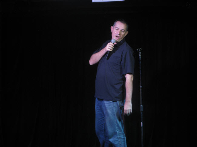 Sydney Comedian Peter Green on our Christmas Comedy Cruise